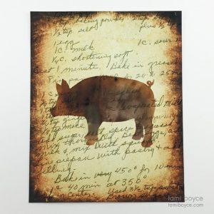 Pig, Kitchen Series