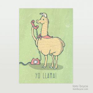 Llama, Yo Llama you do you