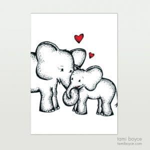 Elephants, Love Doodle