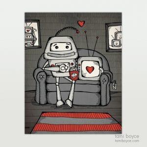 Robot Love_Netflix and Chill