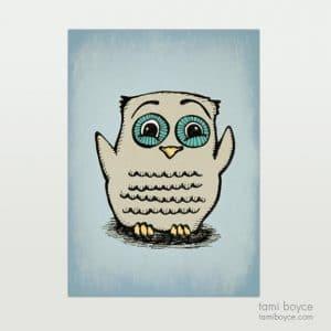 Owl, Happy