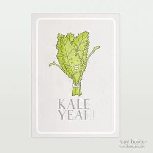 Kale Yeah! Food Pun